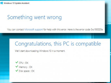 Error code 0xc190020e